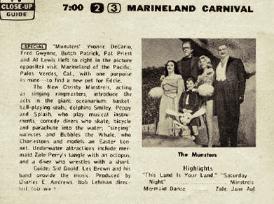 Marineland Carnival 1965 Regional Listing