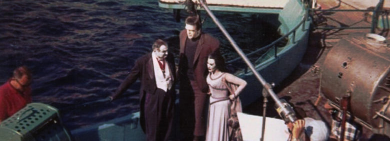 Marineland Carnival behind the scenes with Fred Gwynne, Al Lewis and Yvonne De Carlo